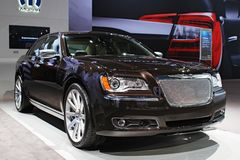 Modelo 2011 de Chrysler 300C Foto de Stock Royalty Free