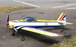 Modelo 3 de los aviones Fotografía de archivo