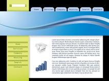 Modelo 7 del Web ilustración del vector