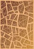 Modelo abstracto Foto de archivo libre de regalías