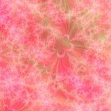 Modelo abstracto anaranjado, rosado y verde del diseño del fondo Fotos de archivo libres de regalías