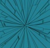 Modelo abstracto azul Foto de archivo libre de regalías