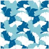 Modelo abstracto azul y blanco inconsútil Imágenes de archivo libres de regalías