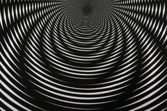 Modelo abstracto blanco y negro 6 Foto de archivo libre de regalías