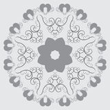 Modelo abstracto circular en estilo árabe Foto de archivo