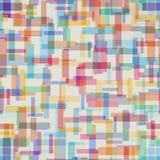 Modelo abstracto colorido de la forma del rectángulo stock de ilustración