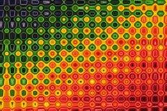 Modelo abstracto colorido del giro para el fondo stock de ilustración
