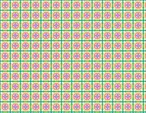 Modelo abstracto colorido en estilo geométrico stock de ilustración