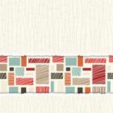 Modelo abstracto colorido inconsútil Imagen de archivo