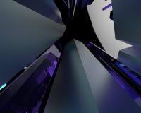 Modelo abstracto 3d Fotografía de archivo
