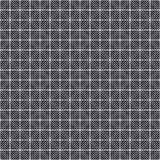 Modelo abstracto de Art Deco Black Gray Dark modelo de repetición inconsútil con las líneas el tejar Texto a pulso sucio del fond stock de ilustración