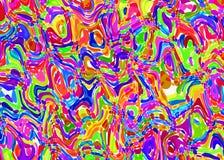 Modelo abstracto de fondos multicolores de la acuarela Fotografía de archivo libre de regalías