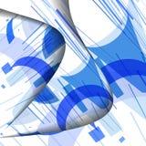 Modelo abstracto de líneas Imagen de archivo libre de regalías
