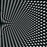 Modelo abstracto de líneas negras en el fondo blanco ilustración del vector
