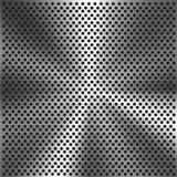 Modelo abstracto de la malla del círculo del metal del fondo del vector Imagen de archivo libre de regalías