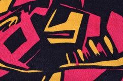 Modelo abstracto de la materia textil Fotos de archivo libres de regalías