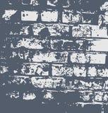 Modelo abstracto de la pared del grunge Foto de archivo