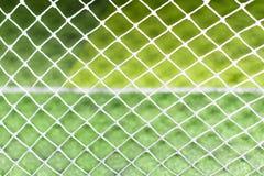 Modelo abstracto de la red de la meta del fútbol Imagen de archivo libre de regalías