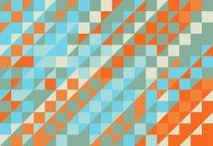Modelo abstracto de la textura del triángulo Foto de archivo