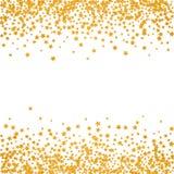 Modelo abstracto de las estrellas el caer al azar libre illustration