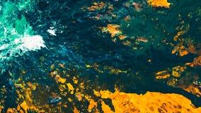 Modelo abstracto del arte de la mezcla del color de fondo de la pintura imagen de archivo