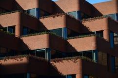 Modelo abstracto del balcón Fotografía de archivo libre de regalías