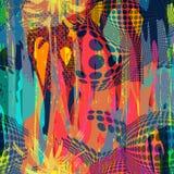 Modelo abstracto del color en estilo de la pintada ejemplo del vector de la calidad para su diseño libre illustration