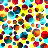 Modelo abstracto del color en estilo de la pintada ejemplo del vector de la calidad para su diseño stock de ilustración