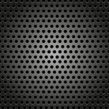Modelo abstracto del diseño del fondo del metal con concepto del hexágono libre illustration