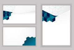 Modelo abstracto del diseño moderno del sobre Stock de ilustración