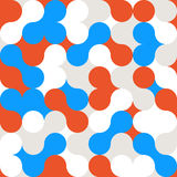 Modelo abstracto del fondo del color del círculo libre illustration