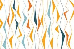 Modelo abstracto del fondo hecho con formas geométricas agudas, orgánicas stock de ilustración