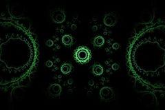Modelo abstracto del fractal Fotografía de archivo