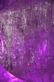 Modelo abstracto del hielo en Año Nuevo del invierno Foto de archivo libre de regalías