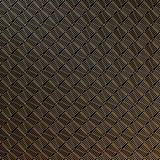 Modelo abstracto del oro en fondo gris oscuro representación 3d Foto de archivo libre de regalías