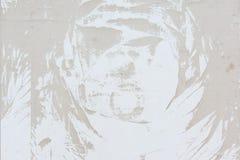 Modelo abstracto del polvo, en una pared beige pálida Fondo en blanco, textura Fotografía de archivo libre de regalías