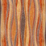 Modelo abstracto del revestimiento de madera - decoración de las ondas, fondo inconsútil stock de ilustración
