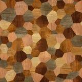Modelo abstracto del revestimiento de madera - fondo inconsútil - textura de madera stock de ilustración