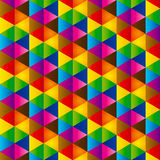 Triángulo abstracto Fotografía de archivo