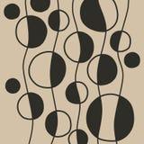 Modelo abstracto del vector Foto de archivo
