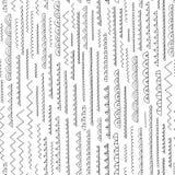 Modelo abstracto dibujado mano Vector el fondo inconsútil para el papel pintado, envolviendo, diseño de la materia textil, textur Fotos de archivo