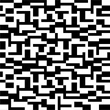 Modelo abstracto en blanco y negro Fotografía de archivo libre de regalías