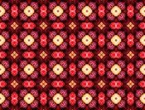 Modelo abstracto en tonos rojos Fotografía de archivo