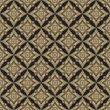 Modelo abstracto geométrico de lujo de oro y negro ilustración del vector