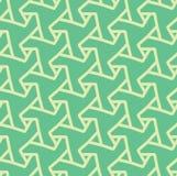 Modelo abstracto geométrico inconsútil con los triángulos - vector eps8 Imágenes de archivo libres de regalías