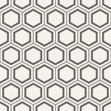 Modelo abstracto geométrico inconsútil de hexágonos Fotografía de archivo