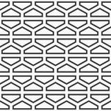 Modelo abstracto geométrico inconsútil de hexágonos, dividido en TW Stock de ilustración