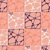 Modelo abstracto gráfico de la decoración Foto de archivo libre de regalías