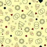 Modelo abstracto inconsútil Ilustración del Vector