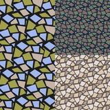 Modelo abstracto inconsútil conjunto rombo Fotos de archivo libres de regalías